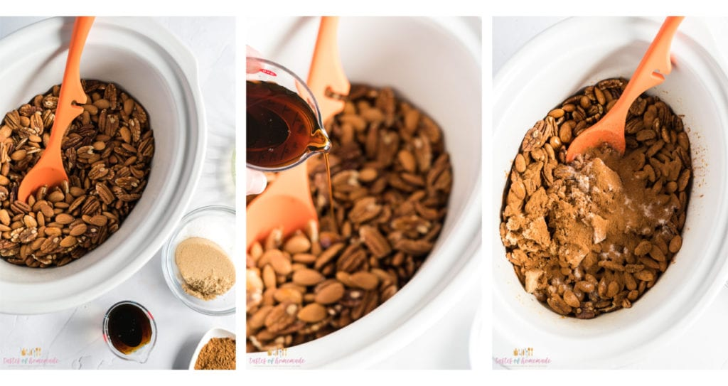 Nuts in a slow cooker