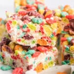 Trix Cereal Bars in a pile