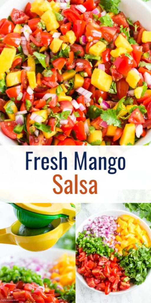 Pin image of salsa with text overlay