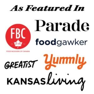 As featured in FBC, Greatest, Kansas living, Parade, Food Gawker, Yummly