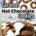 Collage of cookie images with text overlay.